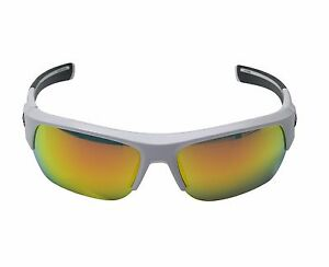 UNDER ARMOUR UA BIG SHOT SUNGLASSES SHINY WHITE  MULTIFLECTION LENS NEW