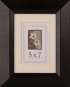5x7 Wood Frames Leather Series