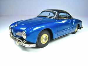 bandai tin friction 1961 vw karmann ghia