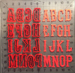 Red Sox Inspired Font Uppercase Cookie Cutter Set