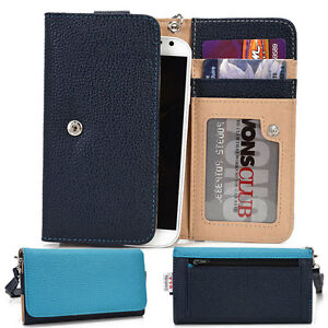 Protective Wallet Case Clutch Cover & Organizer for Smart Phones KroO ESMT18