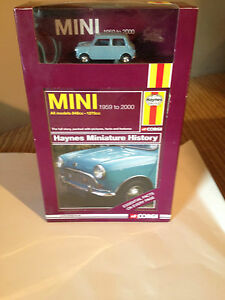 corgi haynes s mini minature history book