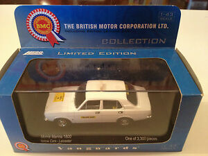 collectors diecast s morris marina yellow