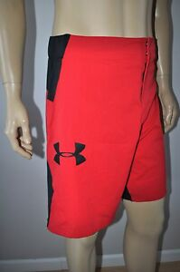 NEW UNDER ARMOUR LOOSE FIT UA COMBINE TRAINING ASCENT MMA MEN`S SHORTS 1253569