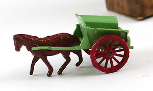 diecast no 6 horse and milk cart with box tv