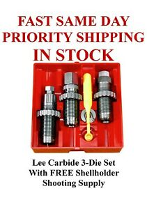 LEE Carbide 3 Die Set 45 ACP 45 Auto Rim New In Box #90513