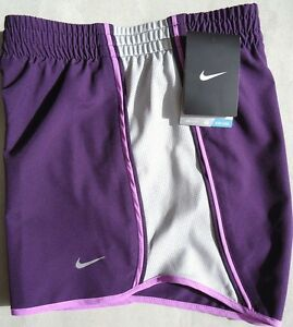 NEW! Purple-Grey [XS] NIKE Pacer Women's DRI-FIT Runner Shorts X-Small