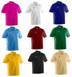 UNDER ARMOUR PERFORMANCE TEAM POLO Men's POLO S-4XL