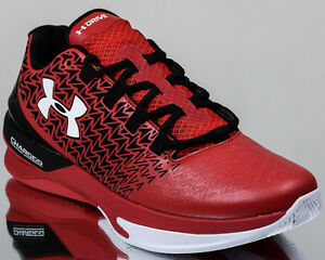 Under Armour ClutchFit Drive 3 Low III UA men basketball shoes  NEW red black