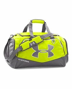 New great  Under Armour Undeniable II Duffel Bag BlackHyper Green Medium