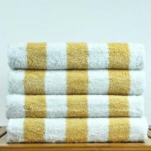 Luxury Hotel Spa Towel Genuine Turkish Cotton Pool Beach Gym Cabana Set of Two