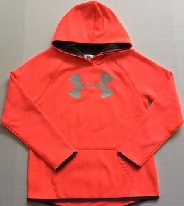 Girl's Youth Under Armour Cold Gear Storm Loose Fit Hoodie