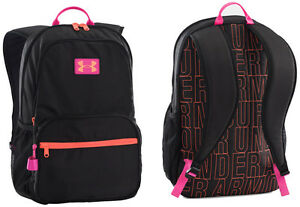 Under Armour Girls' Great Escape Backpack BLACKPINK