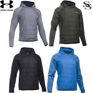 UNDER ARMOUR SWACKET INSULATED POPOVER HOODIE - MEN'S S-3XL