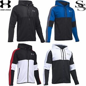 UNDER ARMOUR PURSUIT FULL ZIP INSULATED HOODIE - MEN'S S-XXL