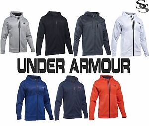 UNDER ARMOUR HOODIE STORM ARMOUR FLEECE ICON FZ - MEN'S S-3XL FULL ZIP