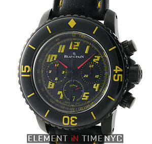 Blancpain Fifty Fathoms Speed Command FlybackChronograph DLC 5785F.A-11D03-63A
