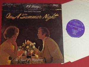 101 Strings Play Songs for Lovers On A Summer Night lp record Alshire S 5143