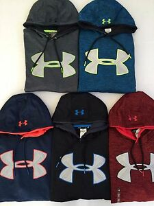 Men's Under Armour Loose Fit Cold Gear Storm Heather Hoodies