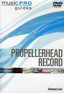 Propellerhead Record Advanced Software Training Music Pro Guide Video DVD NEW $15.99