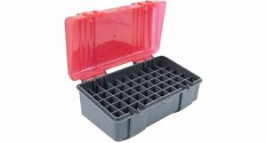 Plano 50 Count Handgun Ammo Case Bullets Box for 9mm and .380 ACP Auto NEW