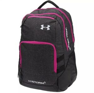 NEW Under Armour Women's Girl's Camden Storm Backpack Water Resistant NWT