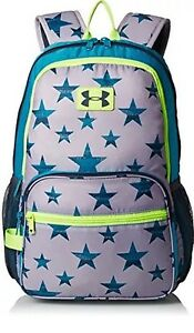 NEW Under Armour Backpack Girls Youth Great Escape Blue Stars 1260542 038 $45