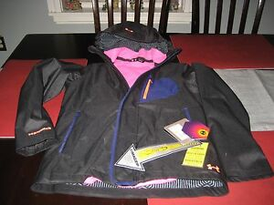 GIRLS YOUTHS Under Armour COLDGEAR INFRARED STORM 2 jacket YMD MEDIUM NWT $59.49