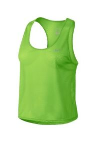 Nike Dry Fit Work Out Tank TOP Woman's Large LIME Green NEW WITH TAGS