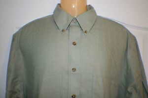 Men's Brooks Brothers Sport Shirt Size sz L Large Button Up Front mens brother