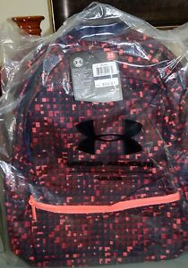 Under Armour Women's Favorite Backpack 1277400 Pink Black NWT