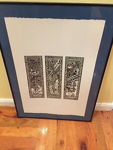 Sarah McLachlan Limited print from Lilith Fair Framed