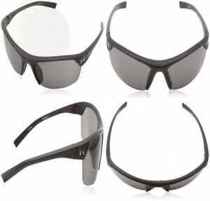 Under Armour Zone 2 Satin Black Frame With Rubber And Gray Lens New Ships Free