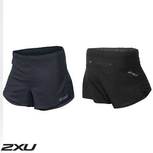NEW 2XU GHST 5 inch Black Running Shorts Mens MR3731b RRP$ 100