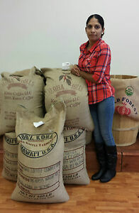 100% Kona / Hawaiian Coffee Whole Beans  -  Medium Roasted Daily 1 LBS Bag !