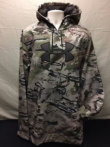Under Armour Ridge Reaper Cold Gear Men's Hoodie Sweatshirt Camouflage XL Tall