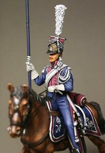 Tin Soldier top quality Trooper Polish Lancers 54 mm The Napoleon wars