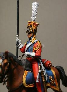 Tin Soldier top quality Trooper Dutch Lancers № 1 54 mm The Napoleon wars