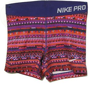 Nike Womens Pro 3 8 Bit Compression Shorts Xs X New Free Shipping