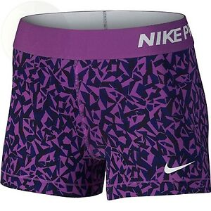 Nike Pro 3 Cool Short Facet Womens Shorts Size Xs New Free Shipping