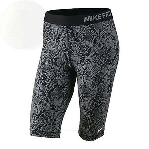 Nike Pro Womens 11 Venom Compression Shorts Small New Free Shipping