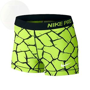 Nike Womens Pro 3 Giraffe Training Shorts X-Small New Free Shipping
