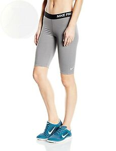 Nike Pro 11 Womens Compression Training Shorts Carbon S New Free Shipping
