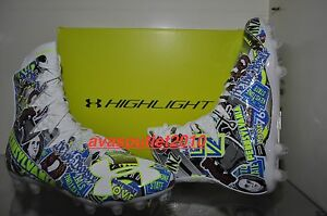 Under Armour Highlight MC Limited Edition PENNSYLVAINA Football Cleats NIB
