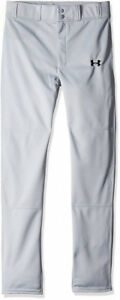 Under Armour Boys Clean Up Baseball Pants GrayBlack Youth X-Large New