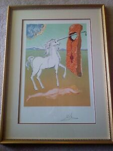 "DALI 1978 ""RETROSPECTIVE"" SUITE 4 SIGNED LITHOGRAPHS MINT CONDITION FRAMED $15995.00"