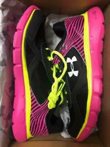 NEW Girl's Under Armour Athletic Shoes Youth UA GGS Micro G Velocity RN
