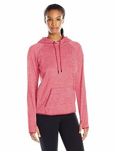 Under Armour Womens Storm Armour Fleece Icon Twist Hoodie Pink Sky 601 X-Large
