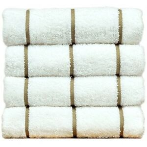 Luxury Hotel & Spa Towel Turkish Cotton Pool Beach Towels - Striped
