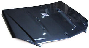 GENUINE CARBON fiber hood bonnet FOR MERCEDES C CLASS W204 Limousine 07-11
